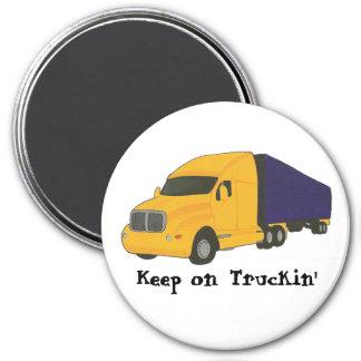 Keep on Truckin, truck on magnets
