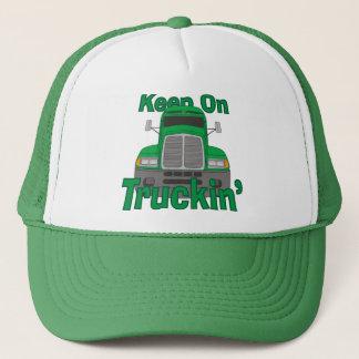 Keep on Truckin' Trucker Hat