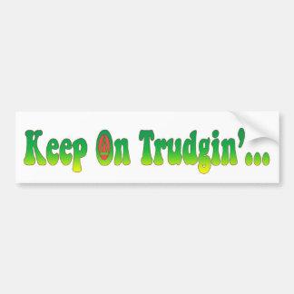 Keep On Trudgin Bumper Sticker