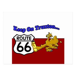 Keep On Truxton Camel Route 66 Arizona Postcard