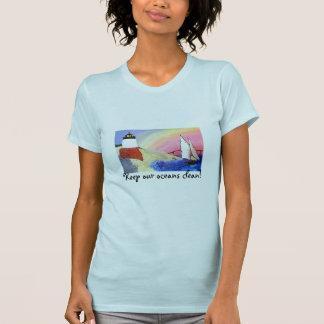 Keep our oceans clean! tee shirt