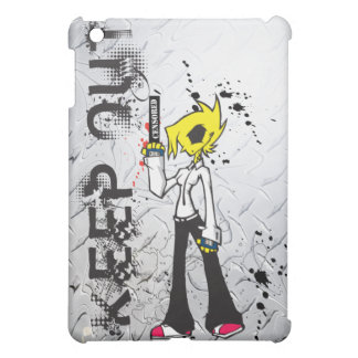 KEEP OUT Bad Girl iPad Mini Covers