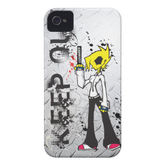 KEEP OUT Bad Girl IPhone Case