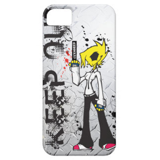 KEEP OUT Bad Girl IPhone Case iPhone 5 Cases