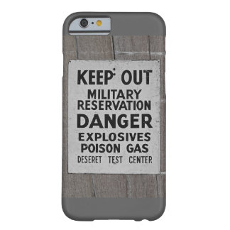 keep out barely there iPhone 6 case