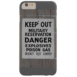 keep out barely there iPhone 6 plus case