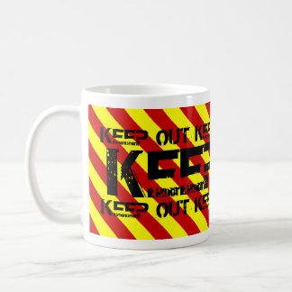 KEEP OUT COFFEE MUG