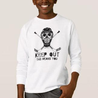 Keep Out - Hockey Goalie Youth T-Shirt