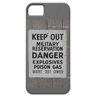 keep out iPhone SE/5/5s case