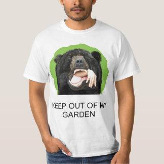 Keep out of my garden bear T-Shirt