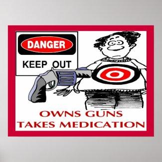 Keep Out Owns Guns