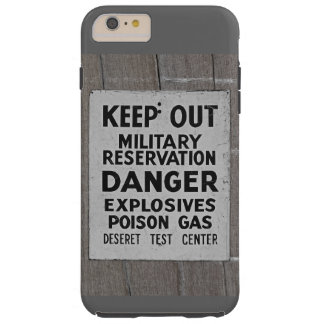 keep out tough iPhone 6 plus case