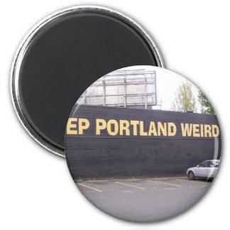 Keep Portland Weird 2 Inch Round Magnet