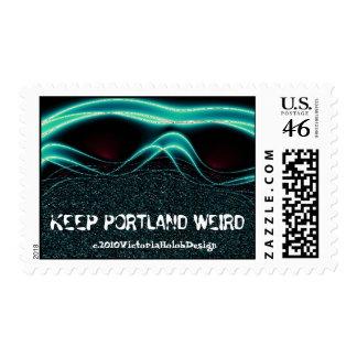 """Keep Portland Weird""--postage"
