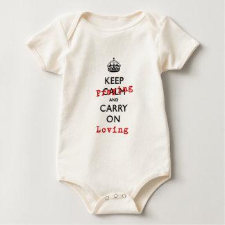 KEEP PRAYING BABY BODYSUIT