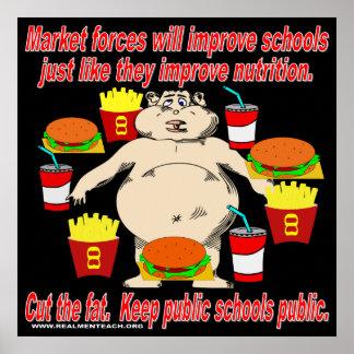 Keep Public Schools Public Poster