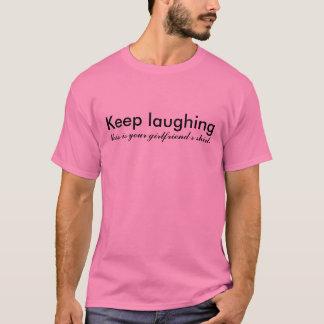 Keep que ríe, ésta es la camisa de su novia