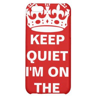 Keep Quiet iPhone 5C Cover