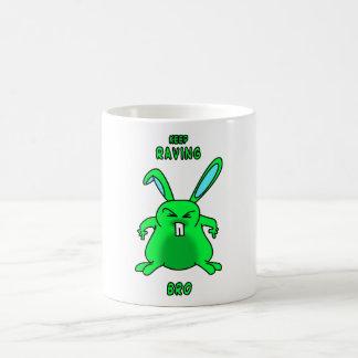 Keep Raving Bro mug