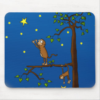 Keep Reaching Monkey Mousepad