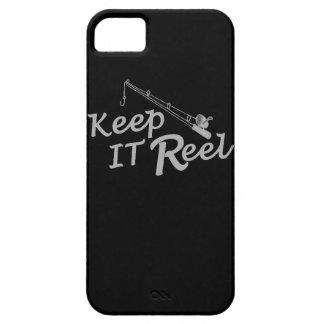 Keep  reel real fishing fish rod sport leisure hoo iPhone 5 cases
