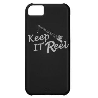 Keep  reel real fishing fish rod sport leisure hoo iPhone 5C covers