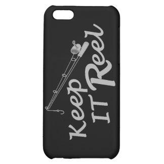 Keep  reel real fishing fish rod sport leisure hoo iPhone 5C case