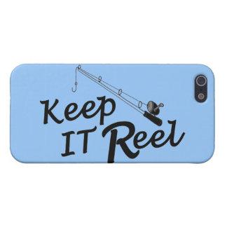Keep  reel real fishing fish rod sport leisure hoo iPhone 5 cover
