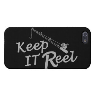 Keep  reel real fishing fish rod sport leisure hoo case for iPhone 5