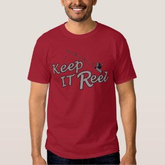 Keep  reel real fishing fish rod sport leisure hoo tees