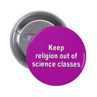 keep religion out button
