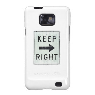 KEEP RIGHT Faded.png Galaxy SII Cases
