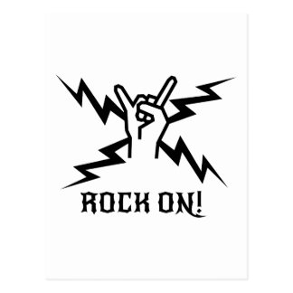 Keep Rockin'! Postcard