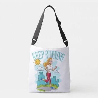 Keep Running Crossbody Bag