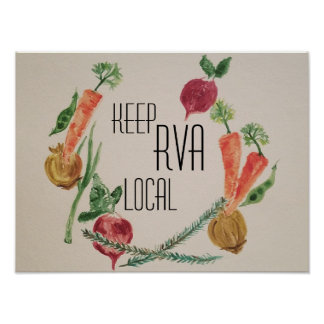 Keep RVA Local Poster