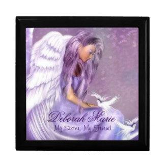 Keep Sake Gift Box/Jewelry Box/Angel and Doves Keepsake Boxes