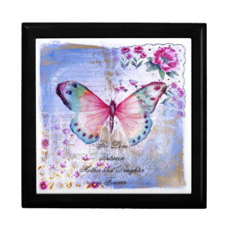Keep Sake Gift Box/Jewelry Box/Vintage Butterfly Keepsake Box