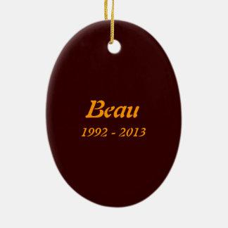 "Keep Sake Ornament ""Beau"""