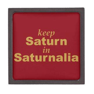 Keep Saturn in Saturnalia Jewelry Box