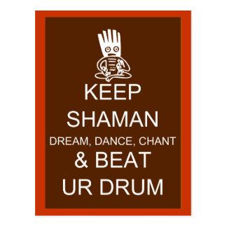 Keep Shaman Postcard