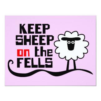 Keep Sheep on the Fells Card