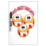 Keep Smile Together Dry Erase Whiteboards