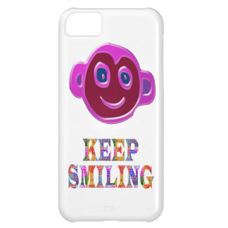 KEEP SMILING COVER FOR iPhone 5C
