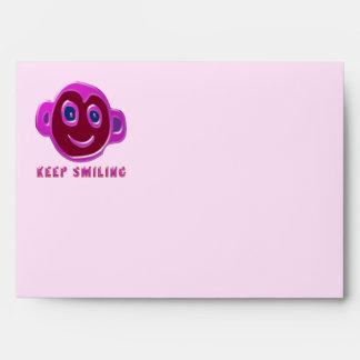KEEP Smiling Envelopes