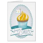 keep smiling greeting cards