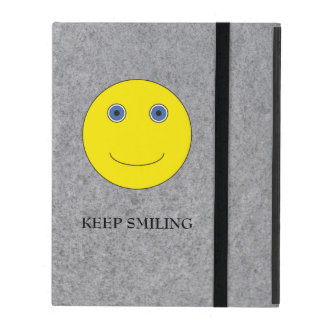 Keep Smiling iPad Covers