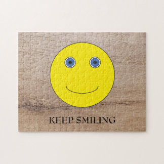 Keep Smiling Jigsaw Puzzle
