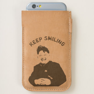 Keep Smiling Kim iPhone 6/6S Case