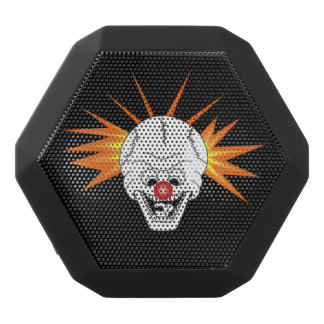 Keep smiling scull black bluetooth speaker