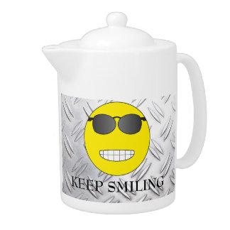 Keep Smiling Teapot